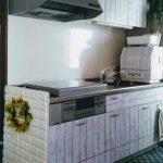 【DIY】キッチンにステンレスのガスコンロカバーを設置