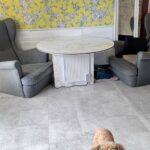 DIYで床材(16メートル)キッチンまで全部を張り替えたよ♪